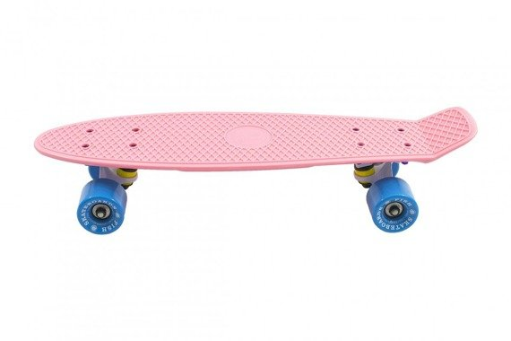 Fish Skateboards - Classic Summer pink/white/blue