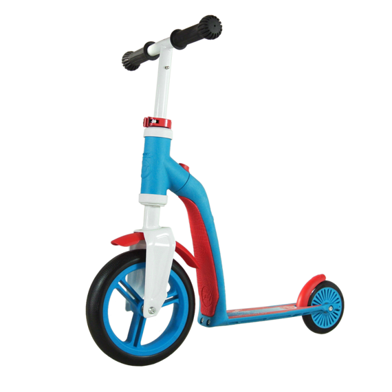 Scootandride - Highwaybaby 2w1 hulajnoga i rowerek 1+ Blue