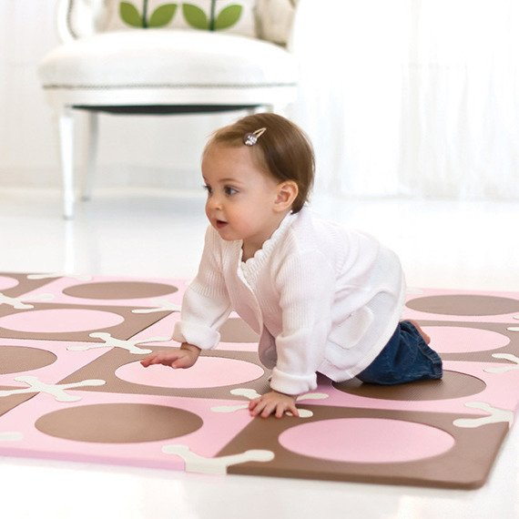 Skip Hop - Mata Playspot Pink/Brown