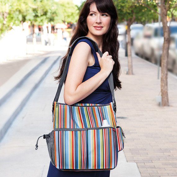 Skip Hop - Torba Duo Metro Stripes