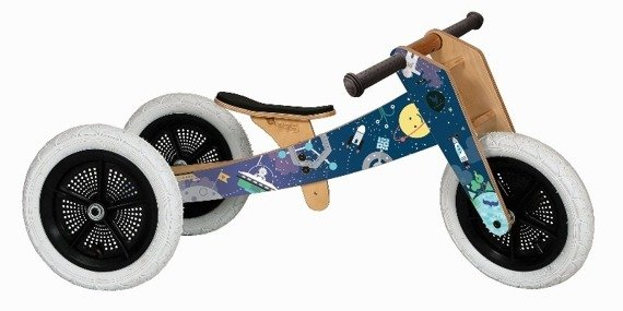 Wishbone Bike - Rowerek biegowy, Space
